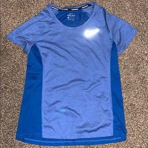 Nike Dri Fit Tee Blue Women's Medium
